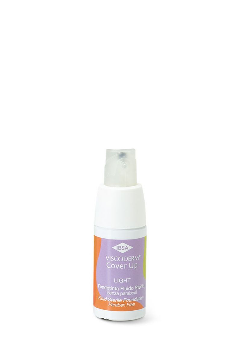 Fondotinta IBSA con ingredienti naturali, Viscoderm Cover Up Light, per pelli sensibili