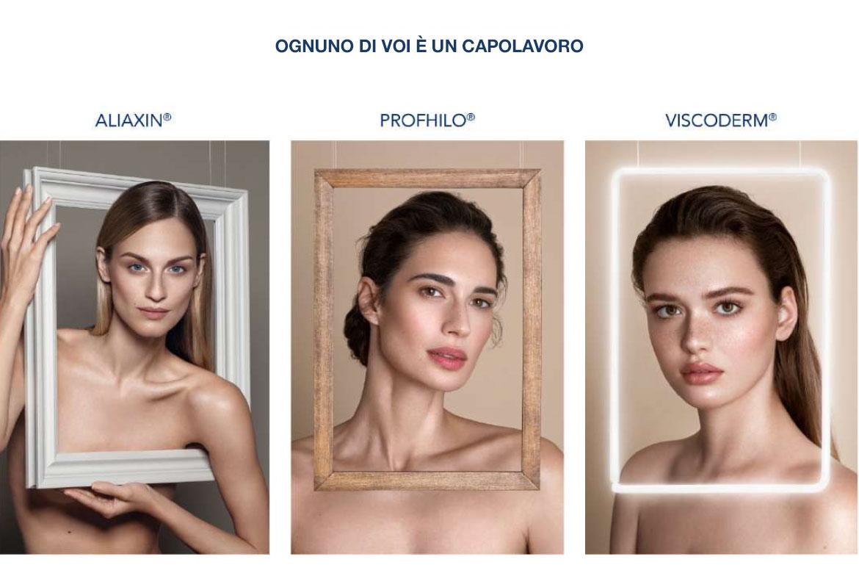 Tre Ragazze Incorniciate - Capolavori di arte e bellezza grazie ai prodotti IBSA
